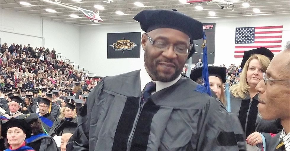 He was an inmate. Now he's a Ph.D., and he wants to pay it forward.