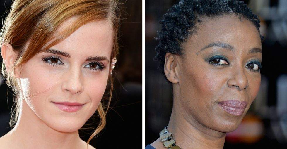 Remember the uproar about a black woman playing Hermione? Emma Watson just cleared it up.