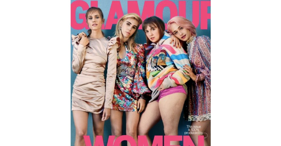 Lena Dunham is glad you can see her cellulite on Glamour magazine.