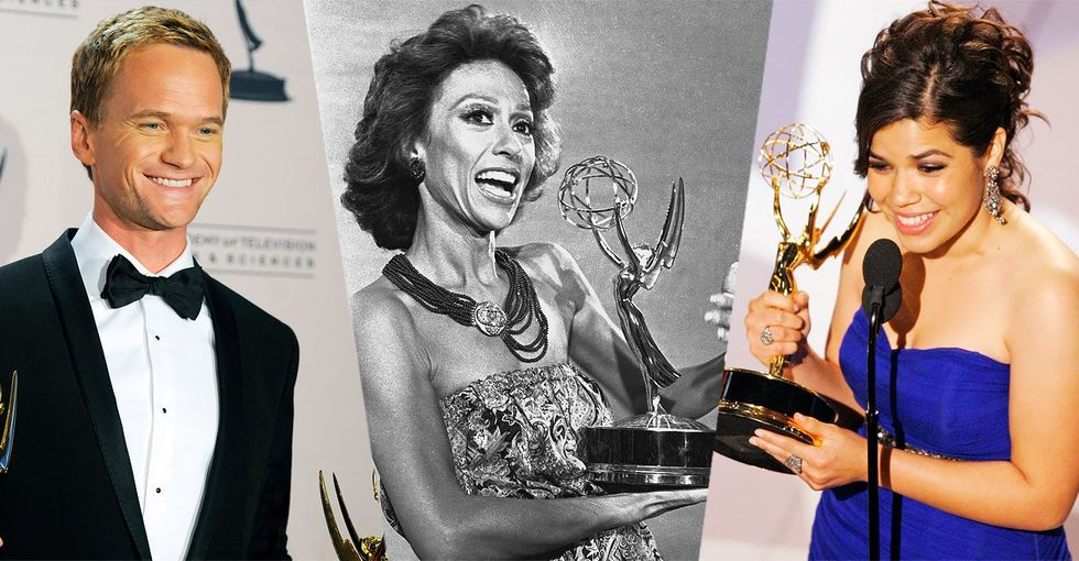 15 trailblazers who've broken barriers and shattered glass ceilings at the Emmys.