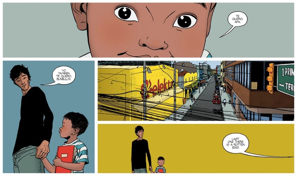3 artists made a bilingual comic to show how complicated immigration really is.