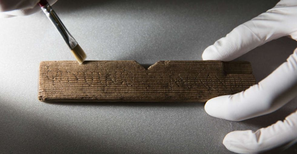 These just-unearthed ancient tablets show how little has changed in 2,000 years.