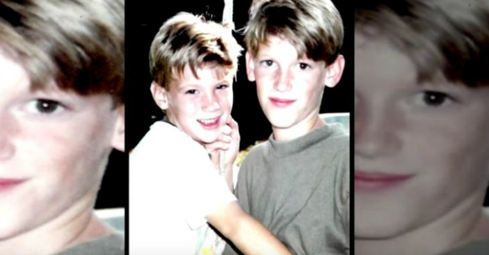 How does a kid cope in life after accidentally killing his brother? John did.