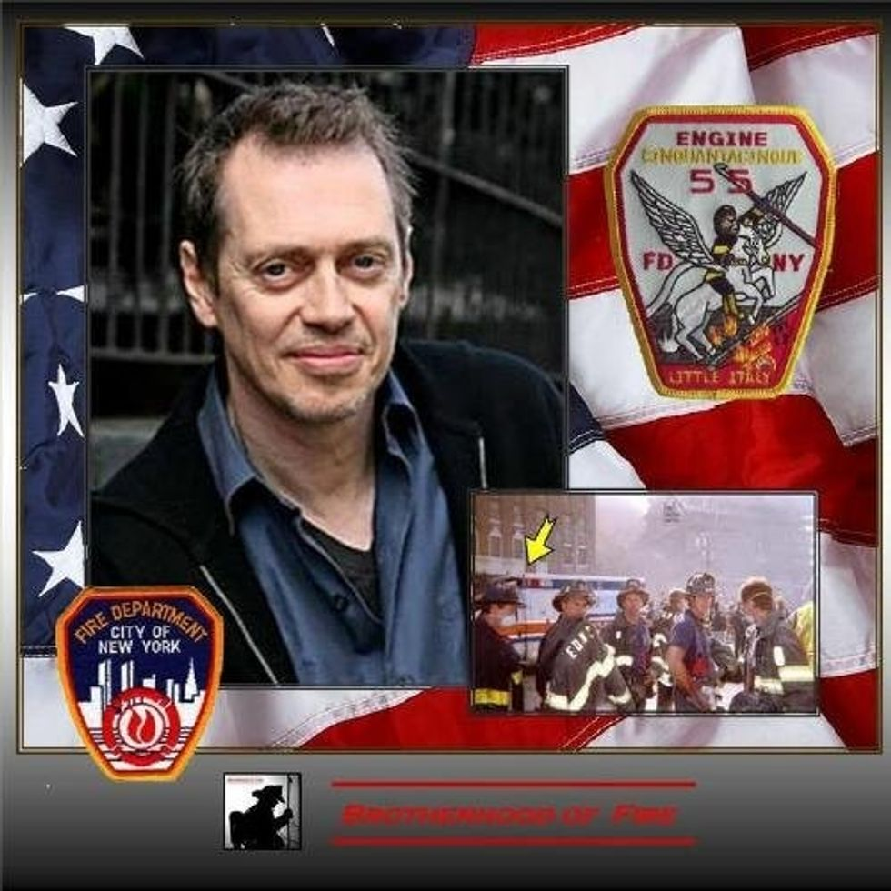 Every September 11, I remember this surprising story about Steve Buscemi.