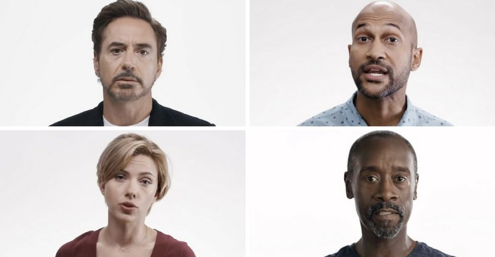 These Hollywood stars want you to help them 'Save the Day' this November.