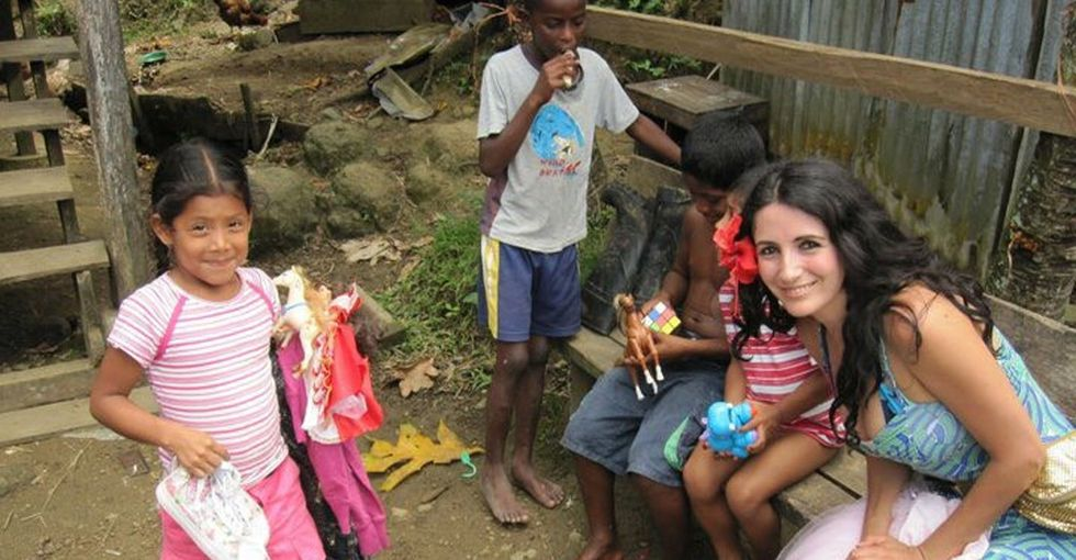 She found the perfect place for all of your discarded toys: in the hands of kids in need.