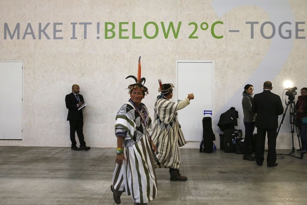 How a disagreement over human rights language almost derailed the climate change treaty.