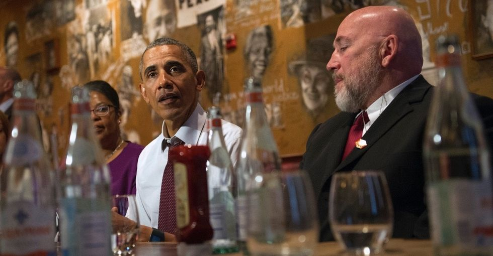 Meet the former inmates who lunched with Obama after he shortened their prison stays.