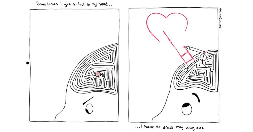 Having  a rough week? These uplifting comics are your chicken soup.