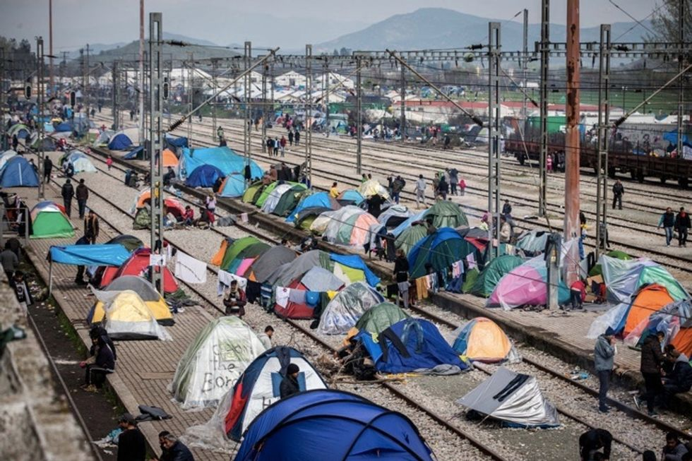 She thought she'd seen the worst of the refugee camps. Then she went to Idomeni.