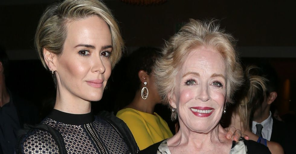 Sarah Paulson thought about not thanking her girlfriend at the Emmys. She's glad she did.