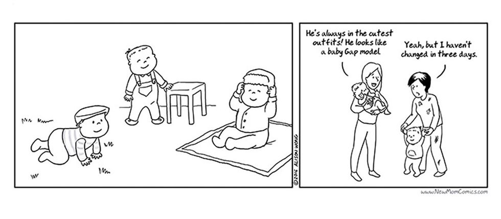 These 17 comics get real about what it feels like to be a new parent.