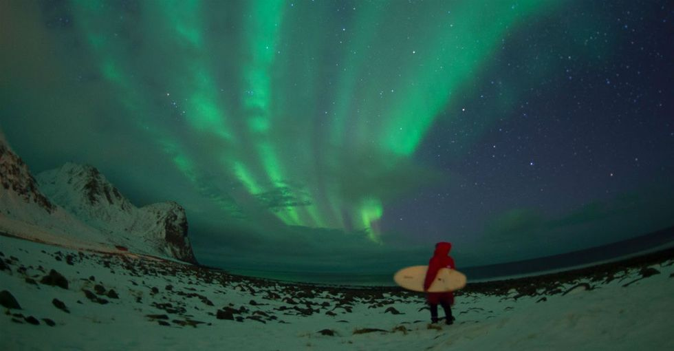 You never thought you wanted to surf at the Arctic Circle until these 19 pics.
