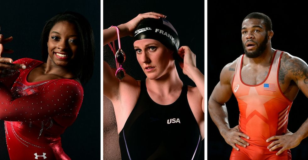 17 powerful quotes from athletes representing Team USA at the Olympics.
