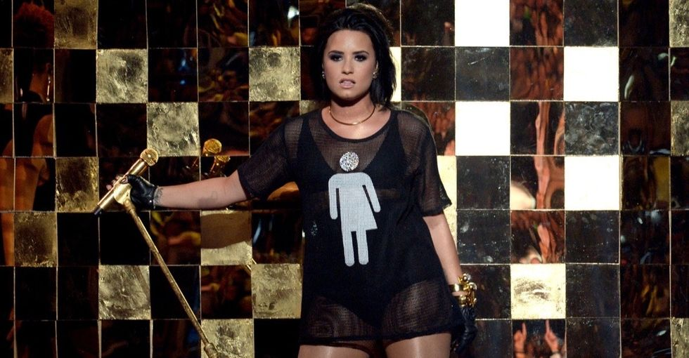 Demi Lovato's pro-LGBT statement at the Billboard Music Awards hit all the right notes.