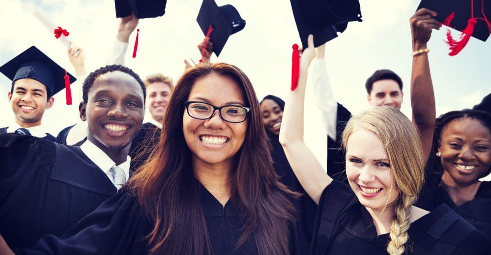 Good news: The graduation gap between students based on race is shrinking.