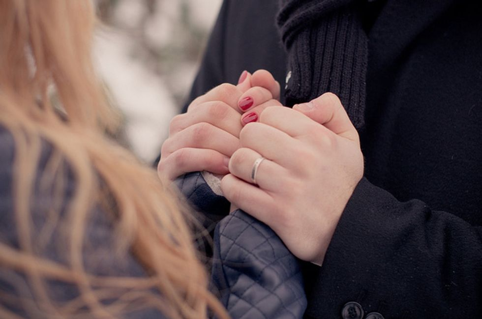 She pledged to be by his side in sickness and in health. She didn't let him down.