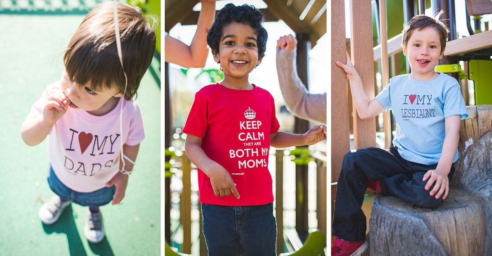 There's no wrong way to make a family. This clothing line gets that.