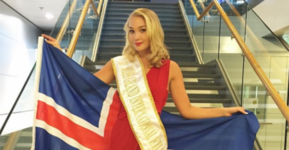 The internet loves Miss Iceland for quitting a beauty contest after getting fat-shamed.