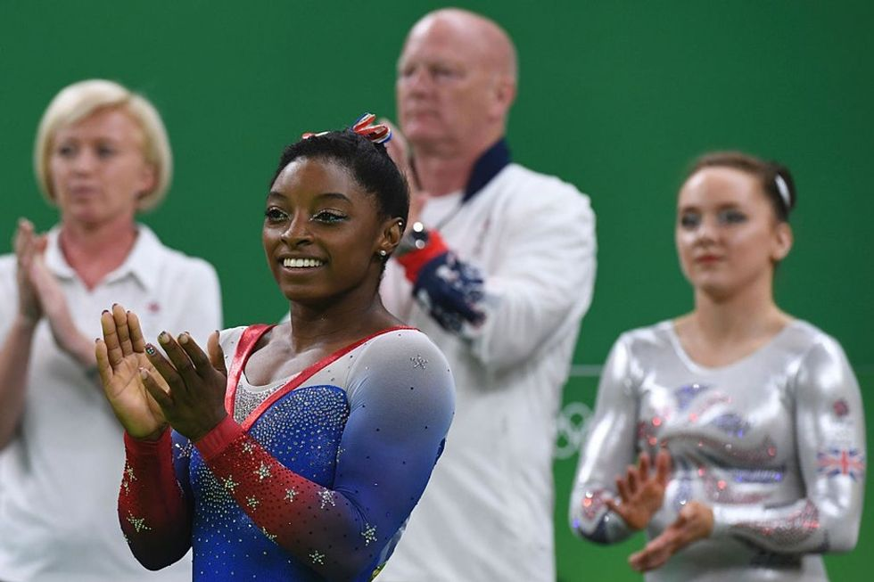 After she was hacked, Olympian Simone Biles opened up about her disorder.