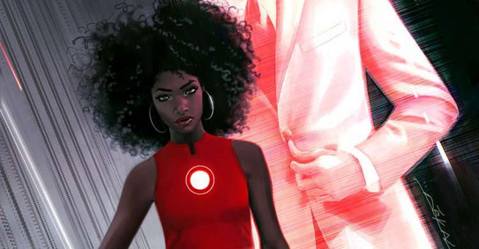 Meet the new Iron Man, a badass black female teen prodigy.