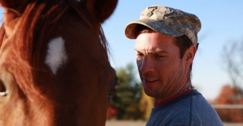This life-changing program pairs combat vets with horses. The results are amazing.