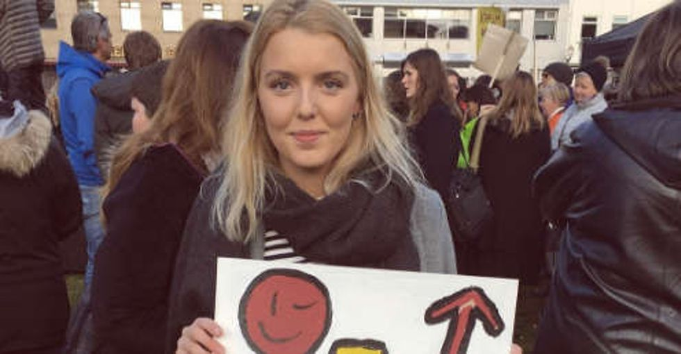 Why thousands of women in Iceland walked off the job at 2:38 p.m.