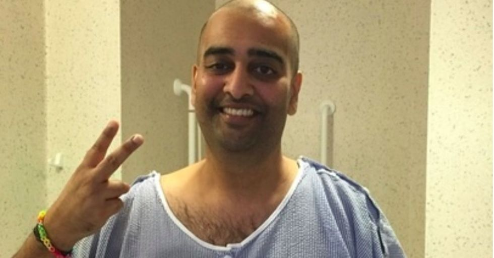 A stranger may help put an end to Sujith's cancer. It could even be you.