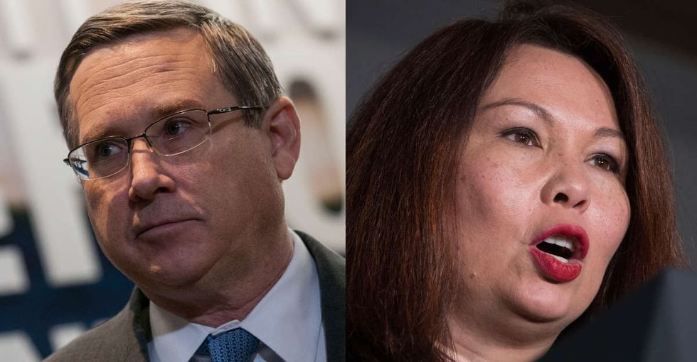 Outraged responses to Mark Kirk's racist jab at Tammy Duckworth are pouring in.