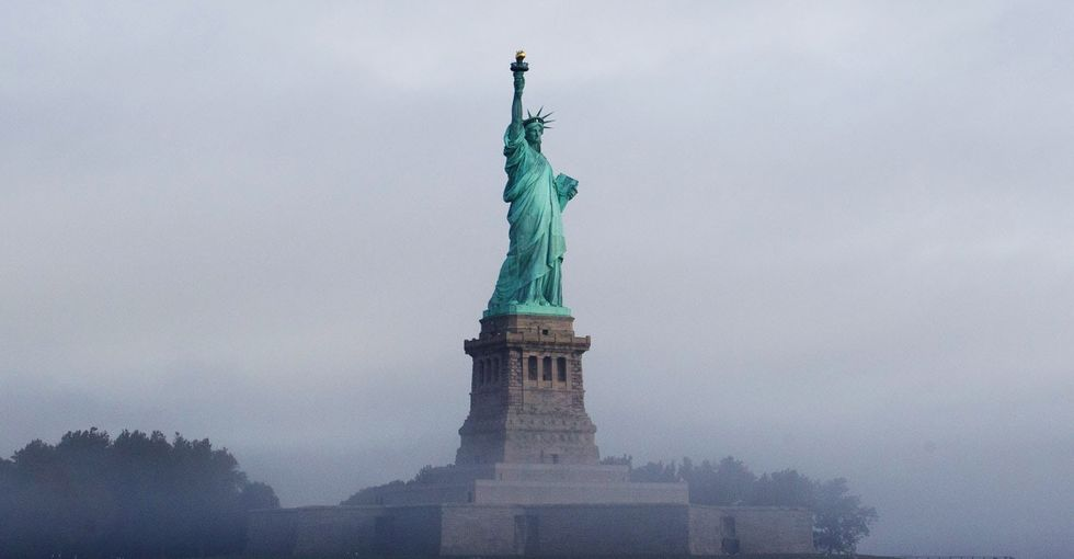 Reddit's co-founder explains why Lady Liberty's light is dimming in an emotional letter.