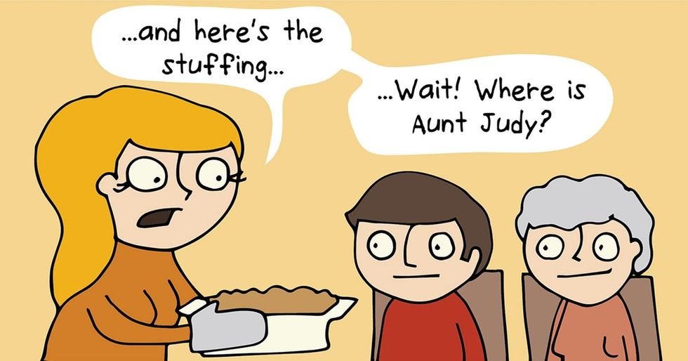 The comic that parents need to see before they embark on Thanksgiving.