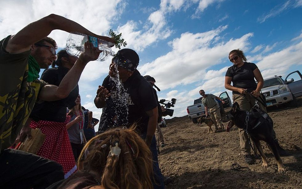 7 jaw-dropping images from the ongoing pipeline protest in North Dakota.