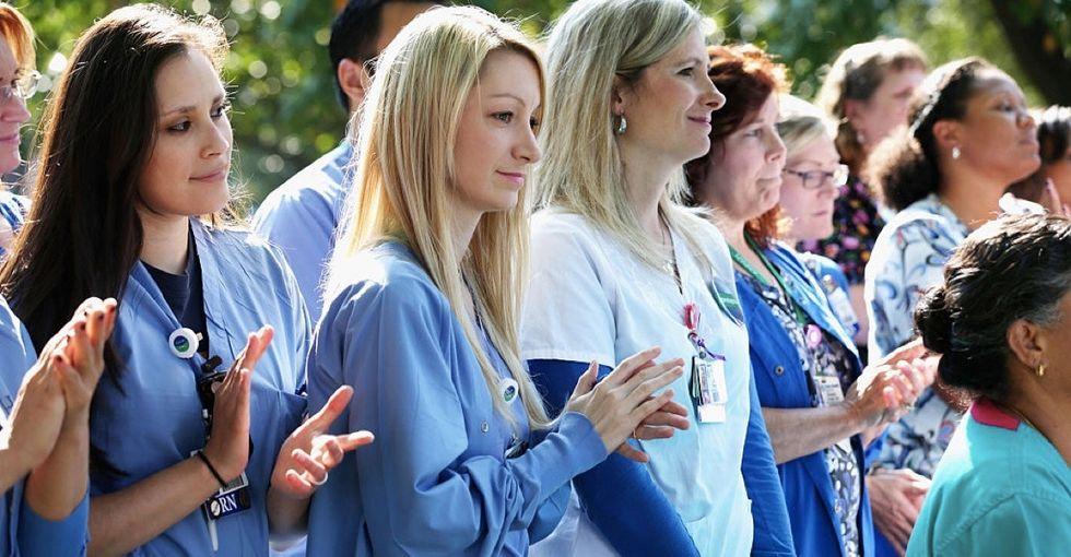 These 11 brave nurses remind us why we celebrate National Nurses Week.