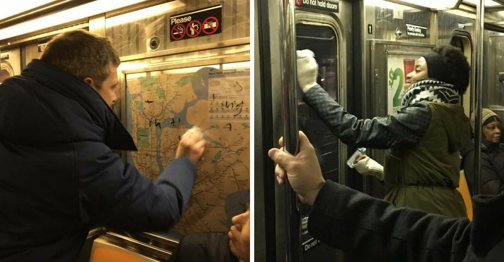 Why this Facebook post of New Yorkers removing anti-Semitic graffiti went viral.