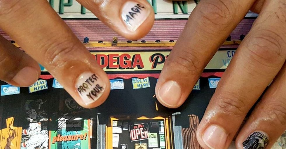 12 incredibly detailed works of nail art that send powerful messages.
