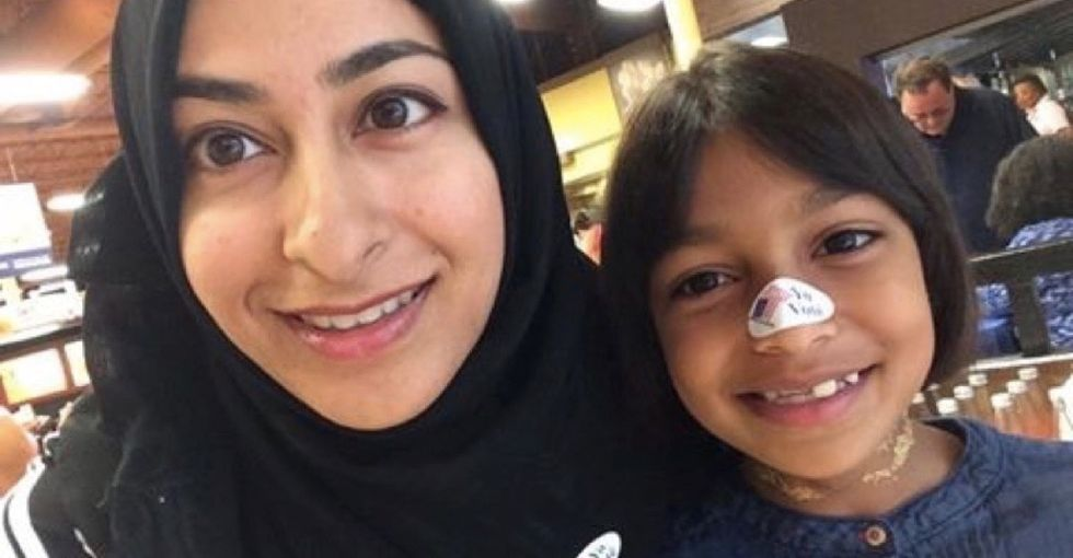 What a Muslim mom said to her daughter about the election — and what you can say, too.