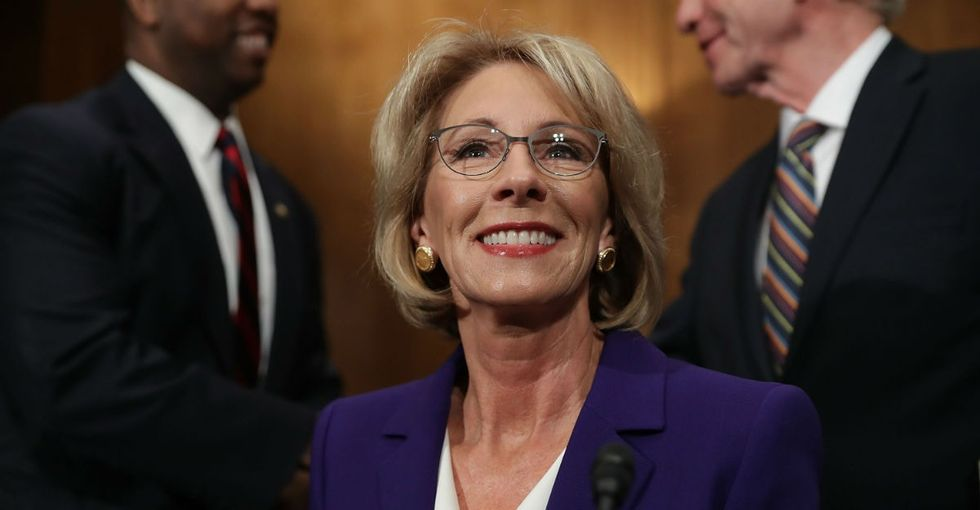 Betsy DeVos is our education secretary. Here's what to do next.