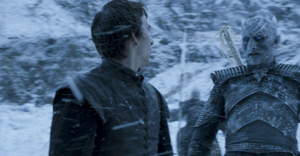 A Song of Nice and Fire: Hodor puts his body into it (recap).