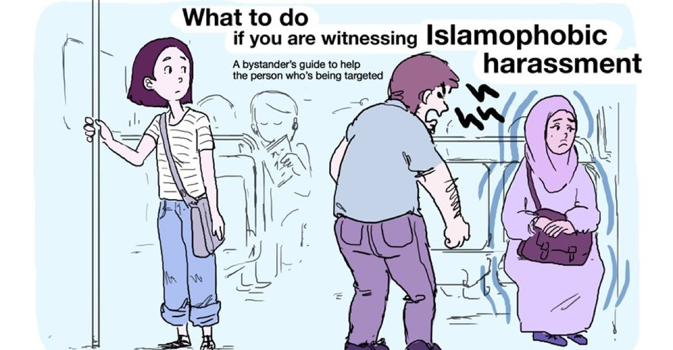 Remember this comic the next time you witness Islamophobia in public.