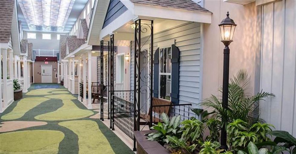 One man turned nursing home design on its head when he created this stunning facility.