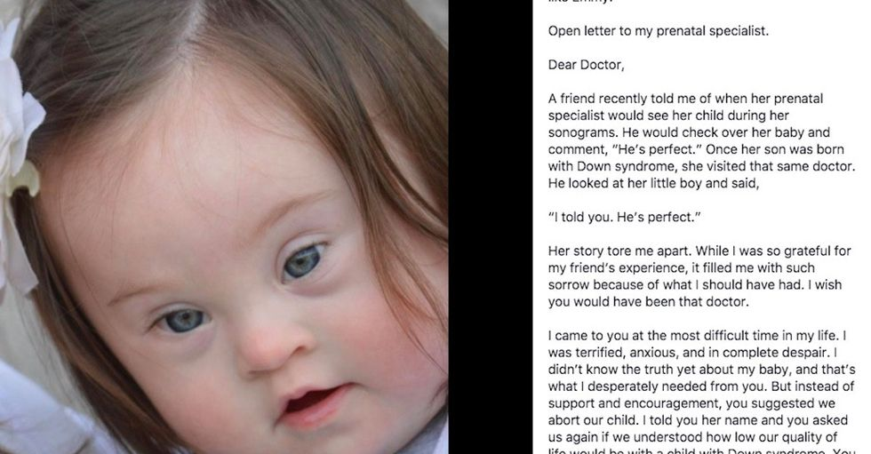 A mom's heartbreaking letter to the doctor who never 'told her the truth' about her baby.
