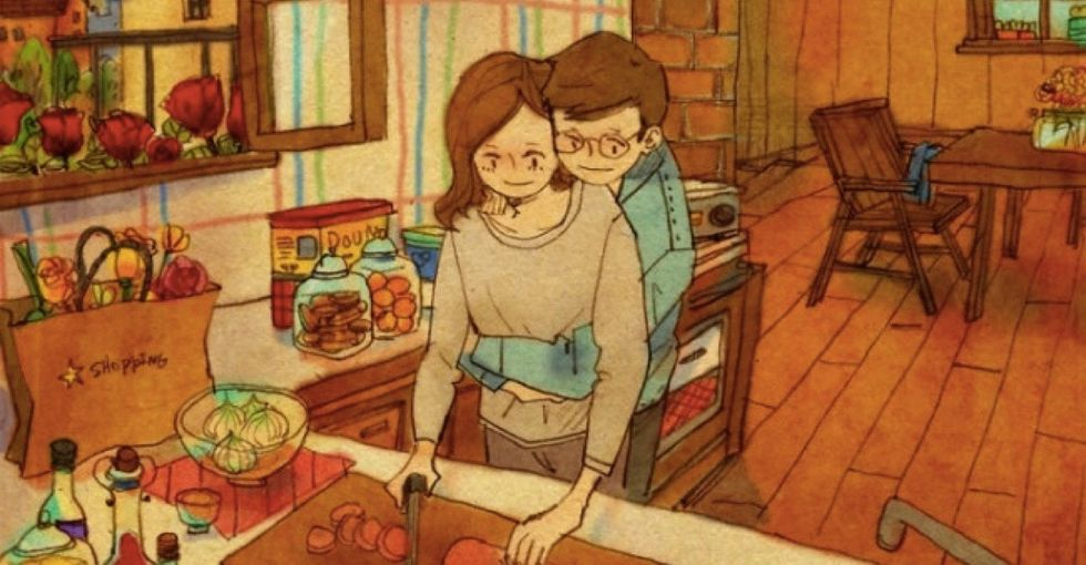 15 beautiful illustrations perfectly capture how it feels to be in love