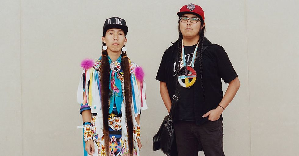 8 inspiring pics from two women on a mission to break Native American stereotypes.
