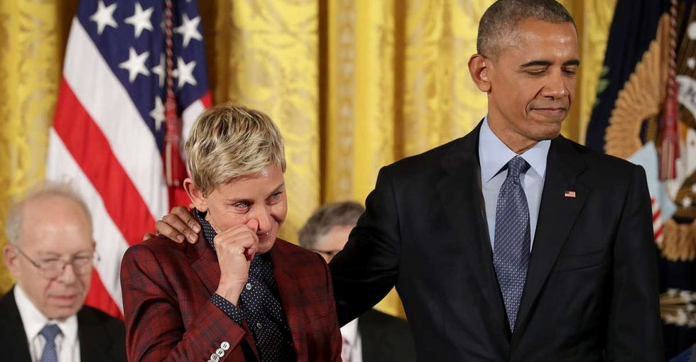 Why Ellen DeGeneres' Presidential Medal of Freedom matters now more than ever.
