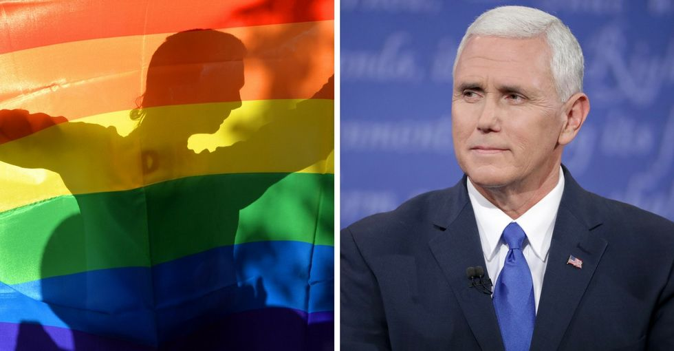 A New York lawmaker trolls Mike Pence by naming an anti-conversion therapy bill after him.