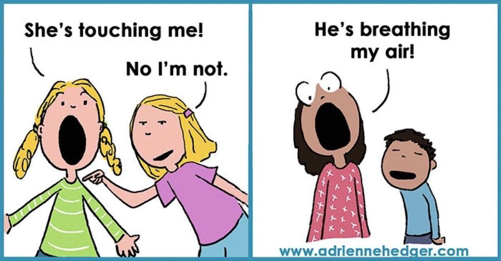 The reality of parenting, brought to life in these 13 funny illustrations.