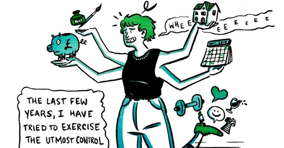 A funny and real comic that will help women stop worrying about being perfect.