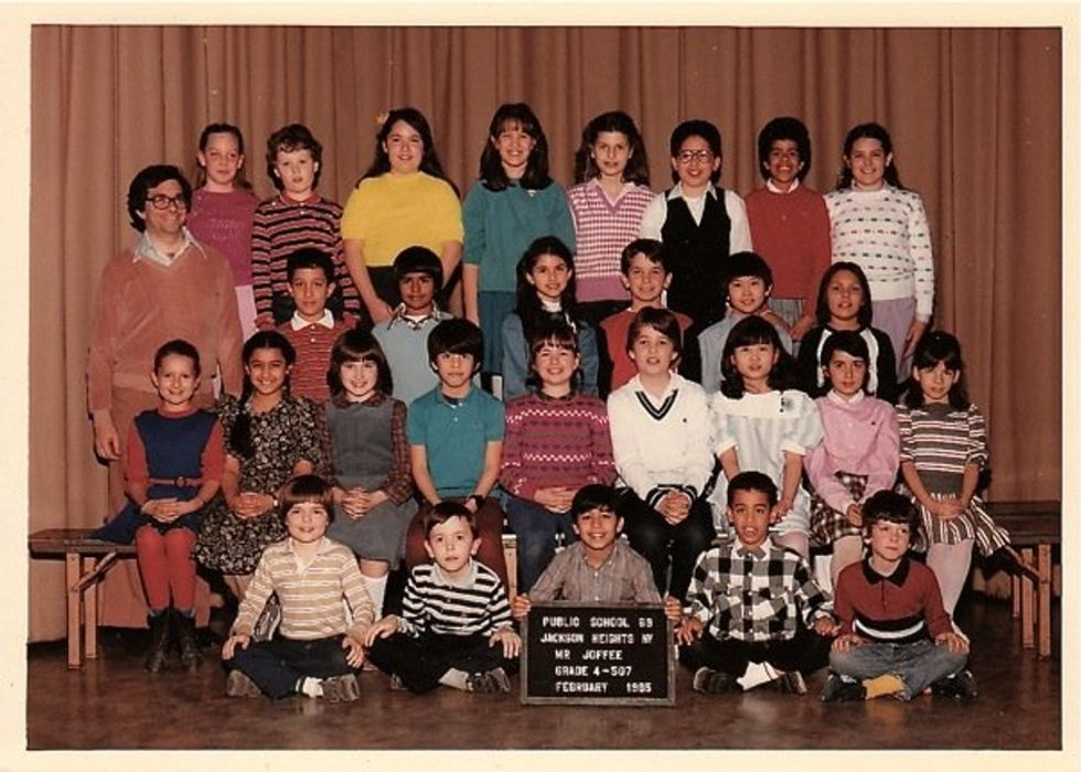 Fourth grade was decades ago, but at least one student has not forgotten him.