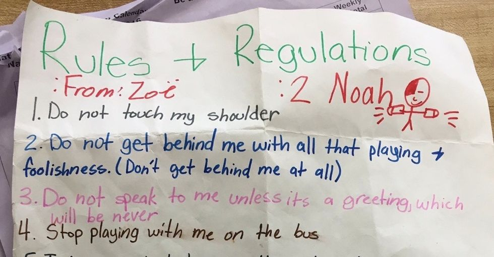 A 5th-grader wrote 7 rules for talking to girls — but grown-ups could learn from them too.