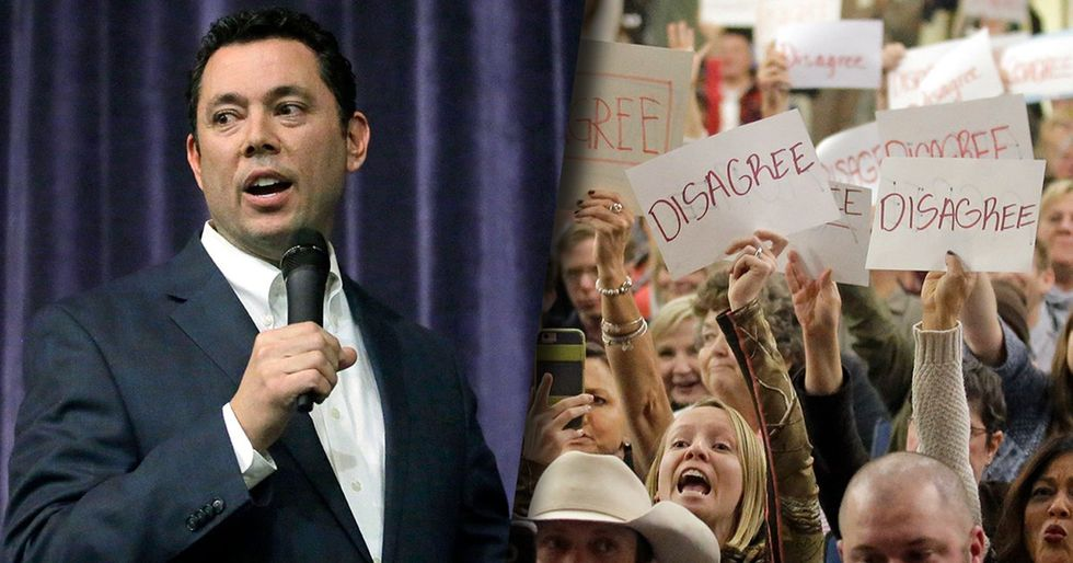 5 big moments from Jason Chaffetz's fiery town hall in deep-red America.